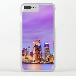 Shanghai - World Big City Clear iPhone Case