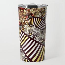 Vintage fractal 1 Travel Mug