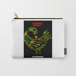 SANKOFA - Learn from the Past! Carry-All Pouch