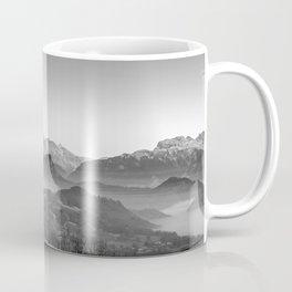 The View (Black and White) Coffee Mug