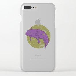 Axolotl Gothic Goth Water Aquarium Pet Animal Gift Clear iPhone Case