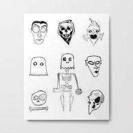 monster flash Metal Print