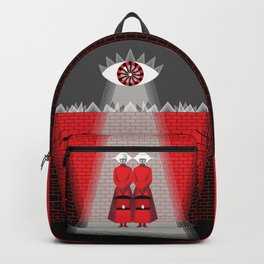 The Wall - The Red Handmaid Collection by ©2018 Balbusso Twins Backpack