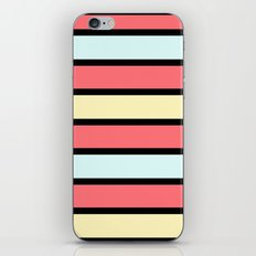 Color band 70's - Formica Stripe iPhone & iPod Skin