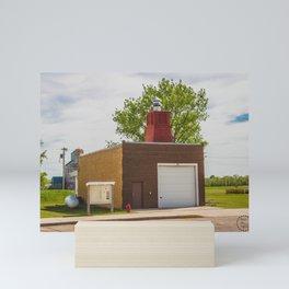 Main Street, Golden Valley, North Dakota 13 Mini Art Print
