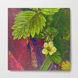 Wild Strawberry Plant Metal Print