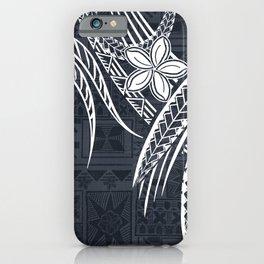 Hawaiian - Samoan - Polynesian Old Tribal iPhone Case