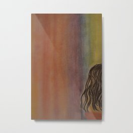 Alone with the Color Metal Print