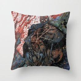 INTO THE PIT - Stefano Cardoselli  Throw Pillow