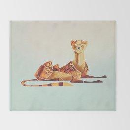 Cheetah 2 Throw Blanket
