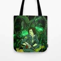 ripley Tote Bags featuring Ripley by Ginger Breo