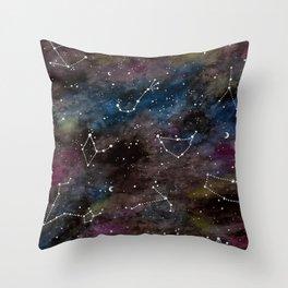 Zodiac Constellations Throw Pillow