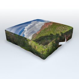Spring, Lee's_Pass, Kolob_Canyons - Zion Outdoor Floor Cushion