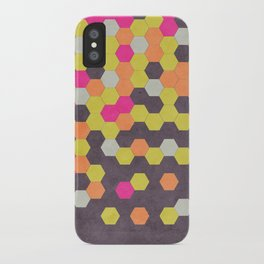 Honeycomb | Abyss iPhone Case