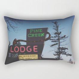 Pine Creek Lodge Rectangular Pillow