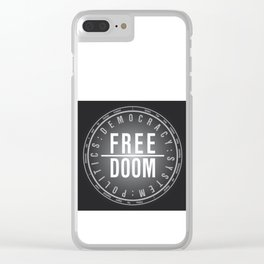 FreeDoom-2 Clear iPhone Case