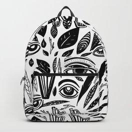 Eye Harp Leaves Backpack