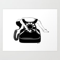 Ring My Bell Art Print