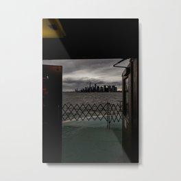 Doorway to NYC Metal Print