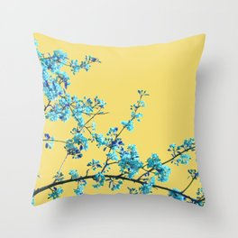 Sweet Blossom Throw Pillow