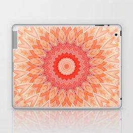 Mandala soft orange Laptop & iPad Skin