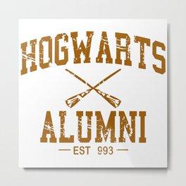Hogwarts Alumni Metal Print