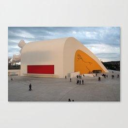 Centro Niemeyer | Aviles Spain Canvas Print