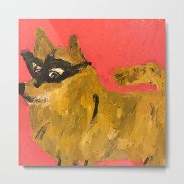 Dog by Eric Ginsburg Metal Print