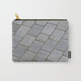 TEXTURES -- Pavingstone Pattern Carry-All Pouch