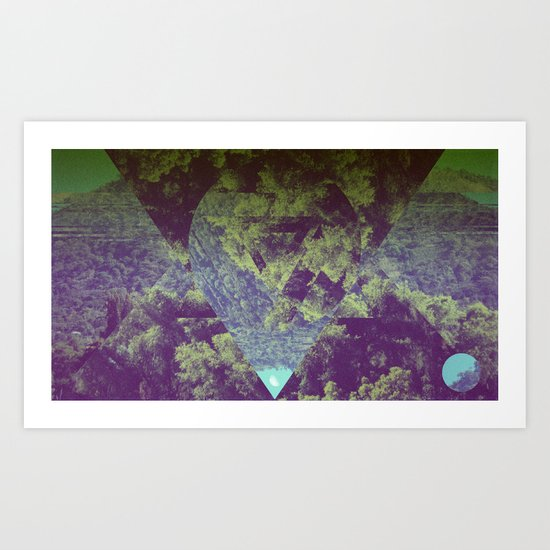 Quantic  Art Print