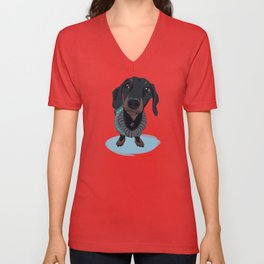 Dapper Dach Unisex V-Neck