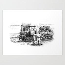 La maquinilla (Jerez de la Frontera) Art Print