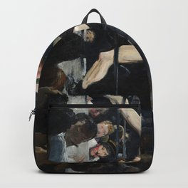 George Bellows's Stag at Sharkeys Backpack
