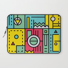 Play on words   Graphic jam Laptop Sleeve