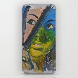 Unzipped iPhone Skin