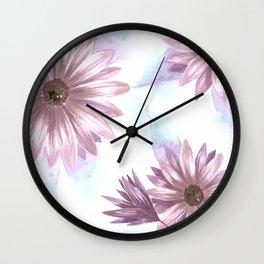 Watercolor Gerbera V Wall Clock