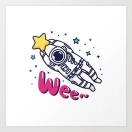 Catach a Shooting Star Art Print