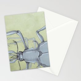 Beetle Blue Stationery Cards