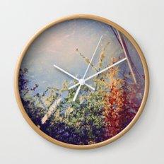 Holga Flowers IV Wall Clock