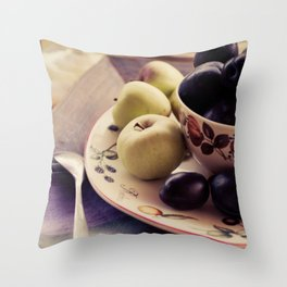 Prums Throw Pillow