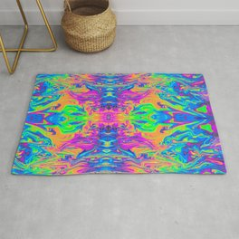 Psychedelic Spill 6 (Mirror Lab version) Rug