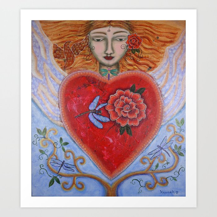 """""""Transformation of the Heart"""" Art Print"""