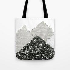 Snow Mountains Tote Bag