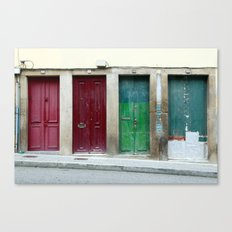Portugal Doors 2 Canvas Print