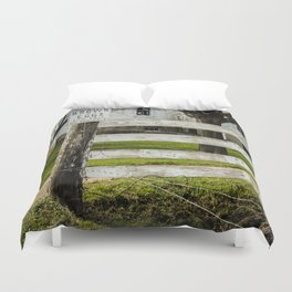 Brown Eggs for Sale Duvet Cover