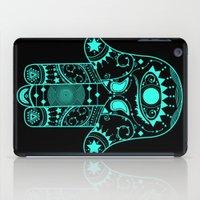 hamsa iPad Cases featuring Hamsa by Erin Leigh Hotchkiss