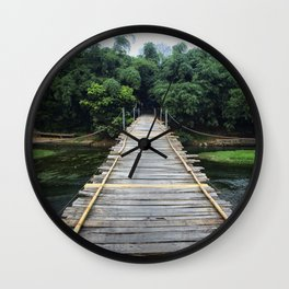 Ready for Adventure Wall Clock