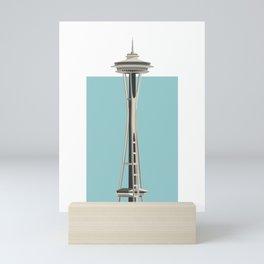 Seattle Building Illustration Mini Art Print