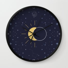 Solar Eclipse 2017 Wall Clock
