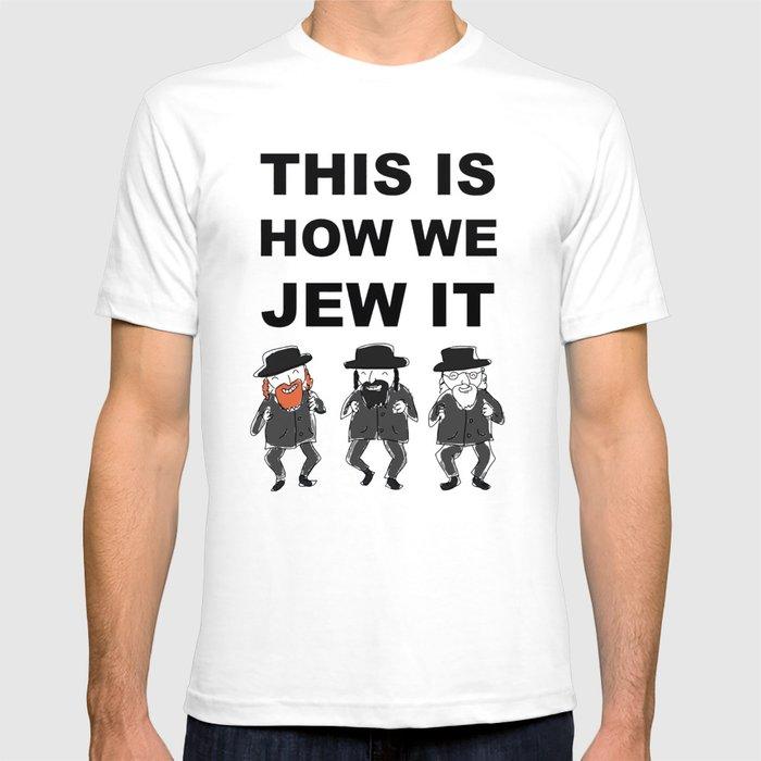 9050728c Funny Jewish Shirt | Hanukkah Shirt | Hebrew Shirt T-Shirts T-shirt ...